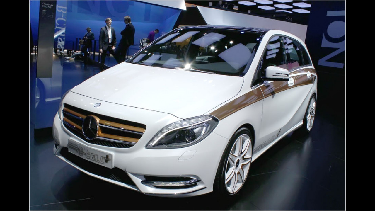 Mercedes B-Class E-Cell plus
