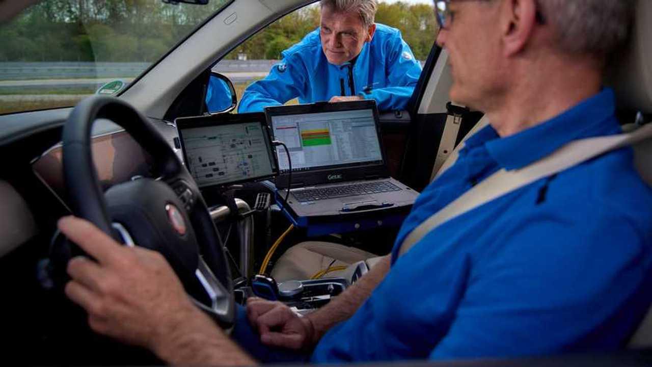 BMW X5 Hidrojenli Test