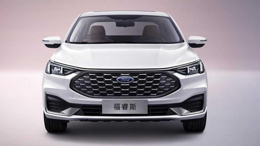 Обновленный Ford Escort для Китая (2021)