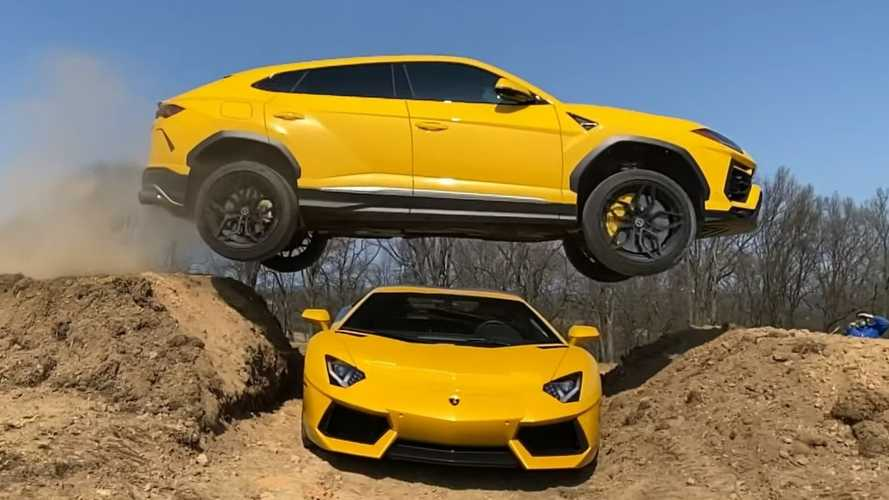 YouTuber facing charges over TRX jump does it again with two Lamborghinis