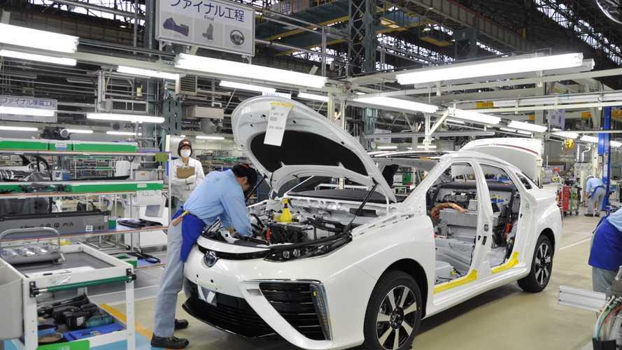 Produzione auto, ecco perché Toyota resiste alla crisi dei chip