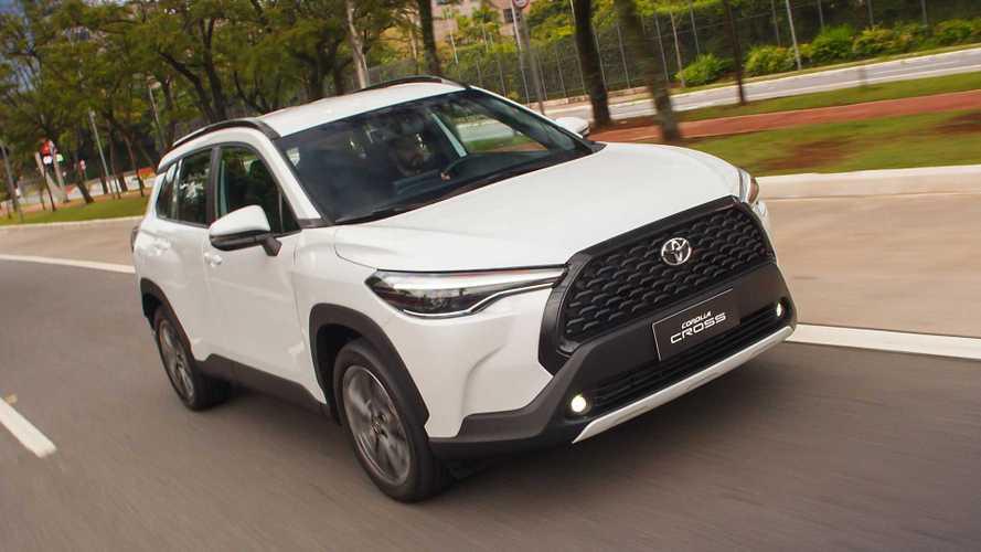 SUVs mais vendidos: Toyota Corolla Cross é vice-líder em abril