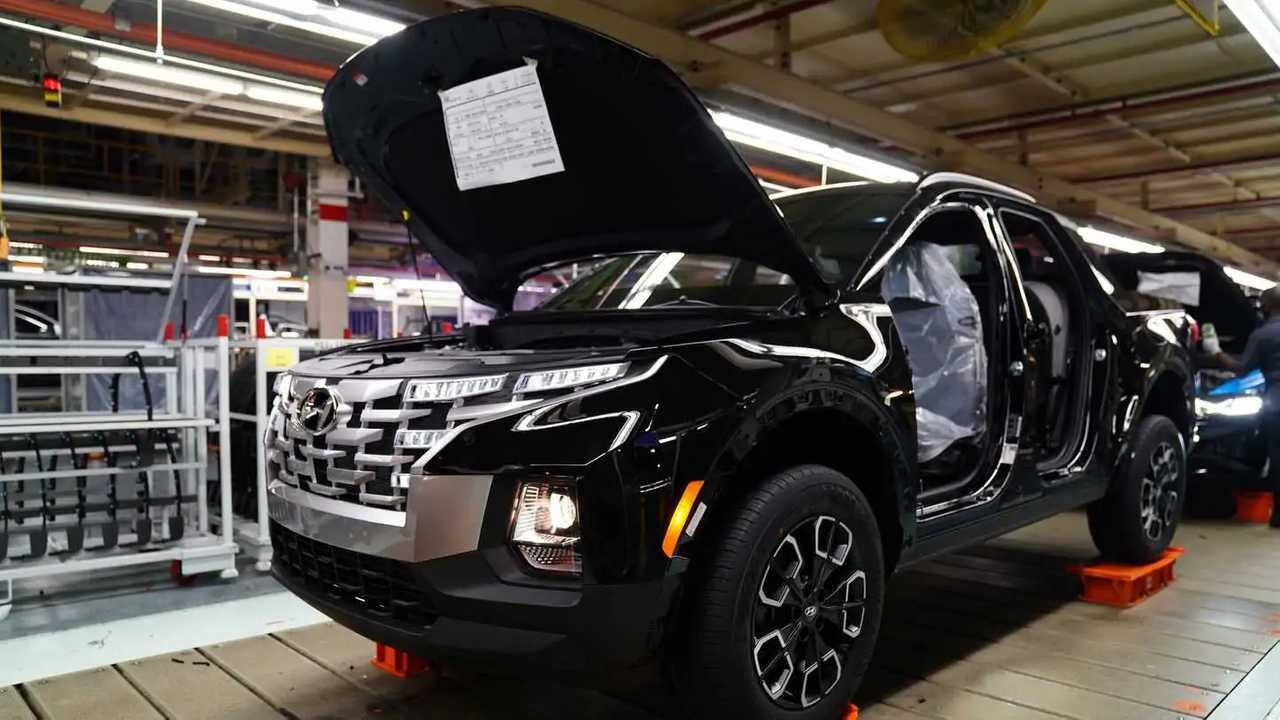 Hyundai Santa Cruz 2022 - Fábrica