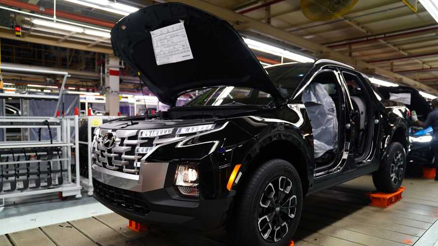 2022 Hyundai Santa Cruz start of production