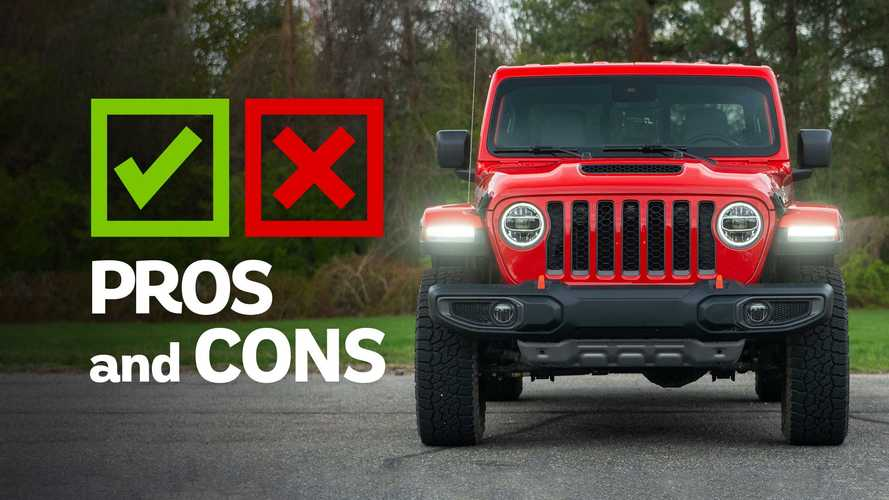 2021 Jeep Gladiator Mojave Pros And Cons: The Different Jeep
