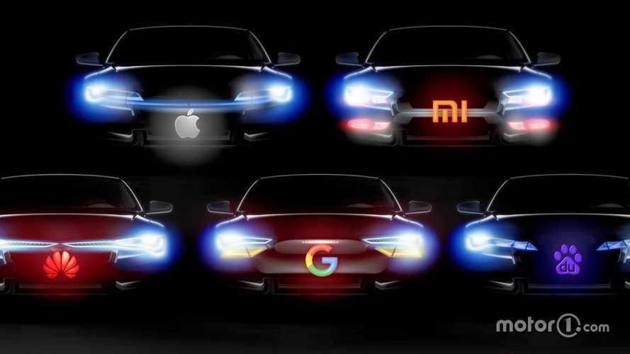 Apple, Huawei, Xiaomi, Google e gli altri: l'auto come uno smartphone