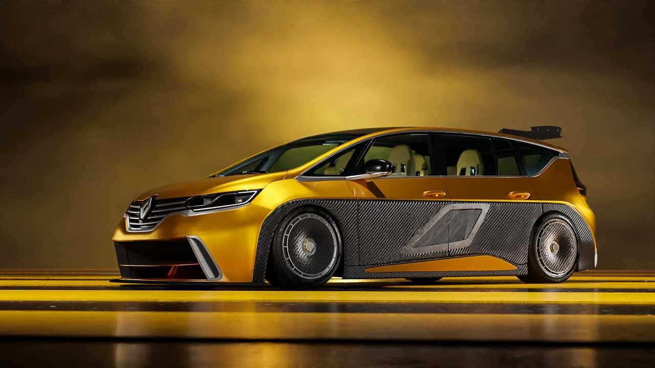 2021 Renault Espace F1 rendering