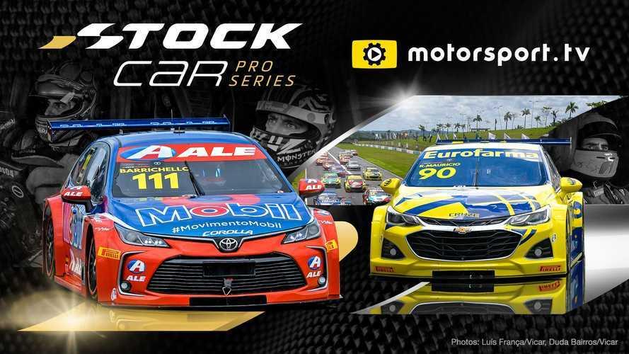 Brasilianische Stock Car Pro Series jetzt live bei Motorsport.tv