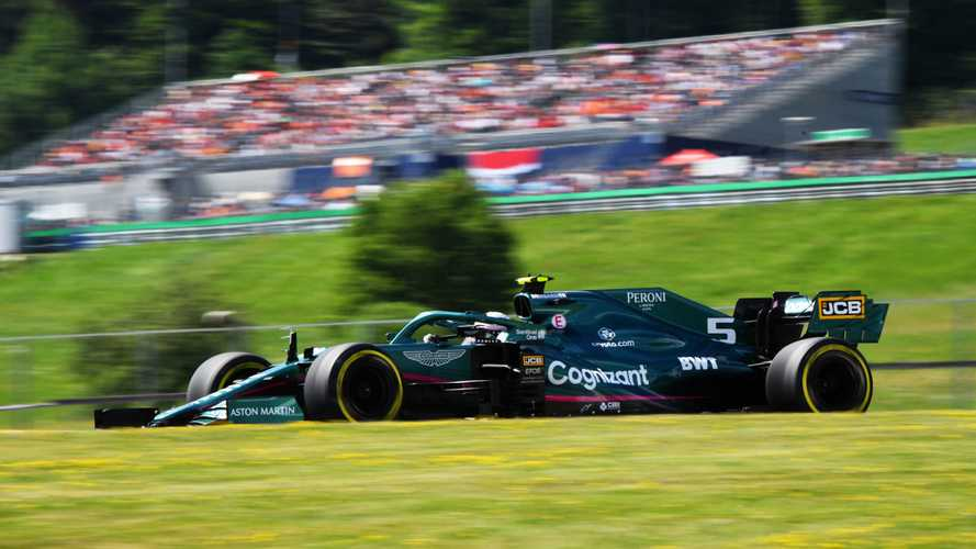 Vettel handed three-place F1 grid penalty for Austrian GP