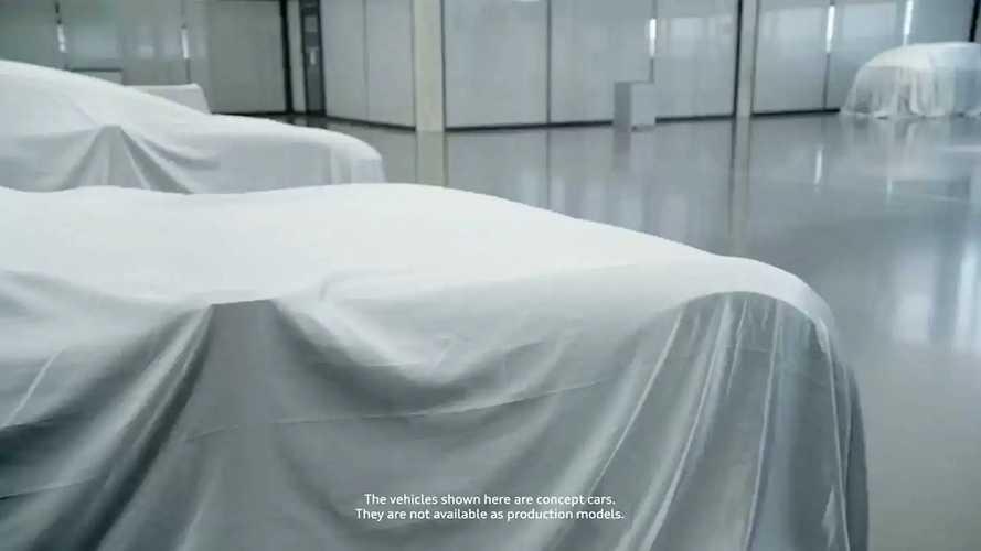 Concept Audi Sphere, i teaser