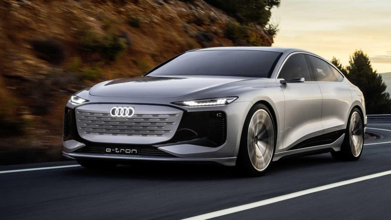 Audi stellt den A6 e-tron vor