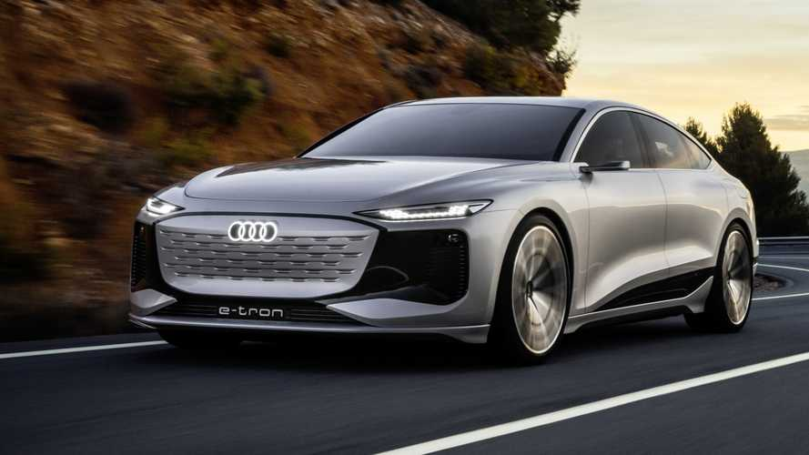 Audi A6 e-tron concept: anticipo de una sensual berlina eléctrica