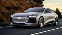 Audi A6 e-tron Concept: Erste Studie auf Basis der PPE-Plattform