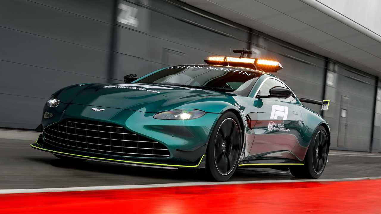 Nuevo Aston Martin Safety Car F1 2021