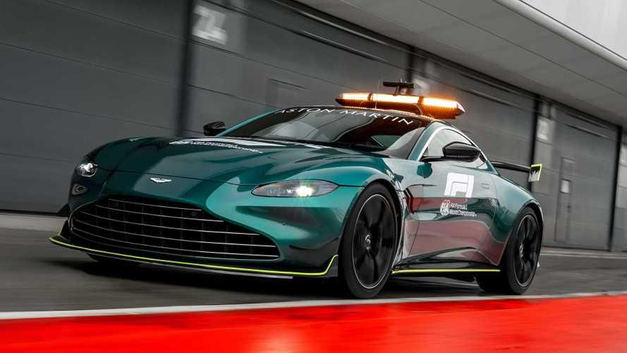 El Aston Martin Vantage, nuevo Safety Car de la Fórmula 1 2021