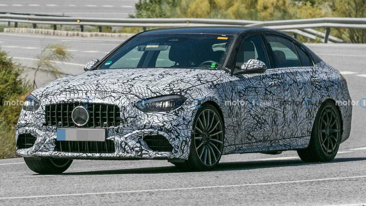 Mercedes-AMG C63 Prototipi Ön Cephe