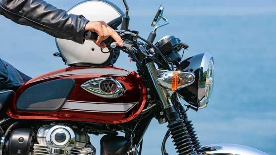 Kawasaki W800s Get New Paint Jobs For 2022