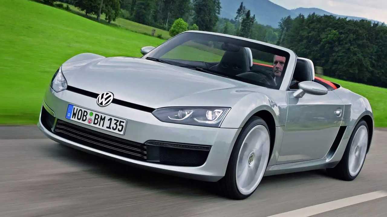Забытый концепт Volkswagen BlueSport