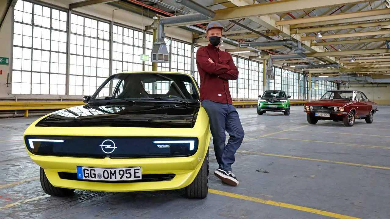 Opel Manta GSe ElektroMOD (2021): Erste Sitzprobe