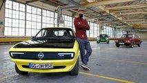 Opel Manta GSe ElektroMOD (2021) in der Sitzprobe