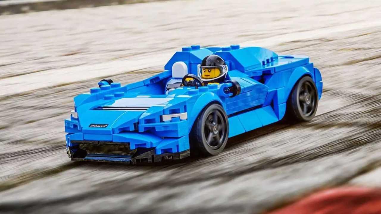 McLaren Elva nuevo modelo de Lego Speed Champions