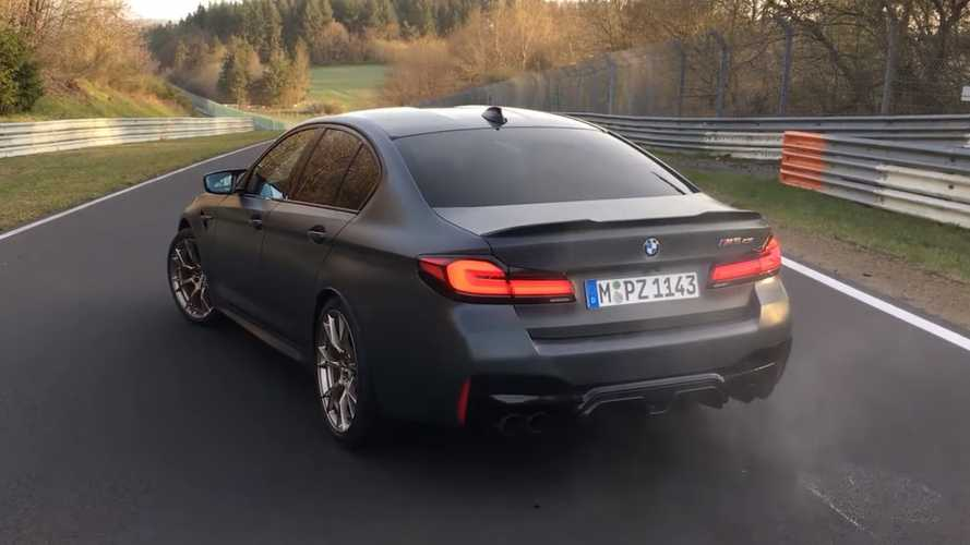 Watch BMW M5 CS Lap The Nurburgring In 7 Minutes And 29.57 Seconds