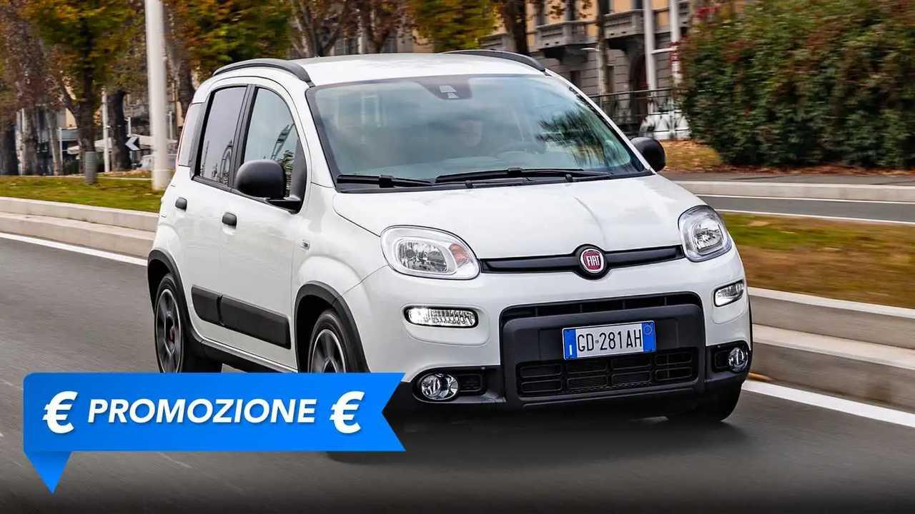 Fiat Panda City Life Hybrid, promozione giugno 2021
