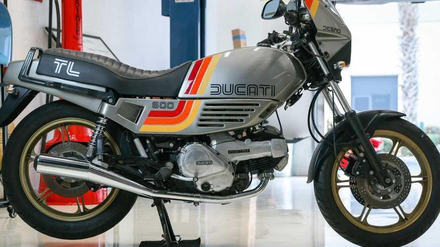 This 1985 Ducati Pantah 600 TL Is a Top Time Machine