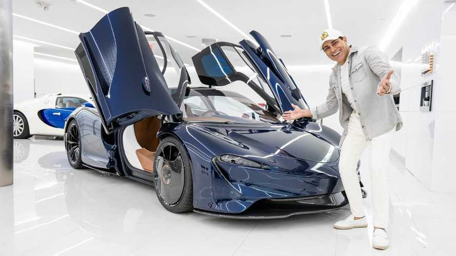 Manny Khoshbin adds McLaren Speedtail to Hermes collection