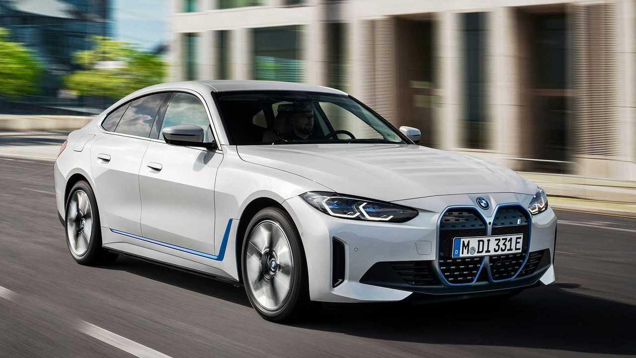 BMW stellt i4 als eDrive40 und M50 vor