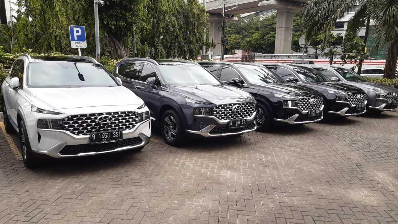 Deretan mobil Hyundai Santa Fe 2021 facelift