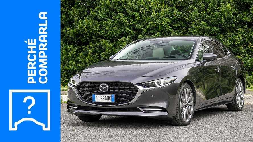 Mazda 3 Sedan (2021), perché comprarla e perché no