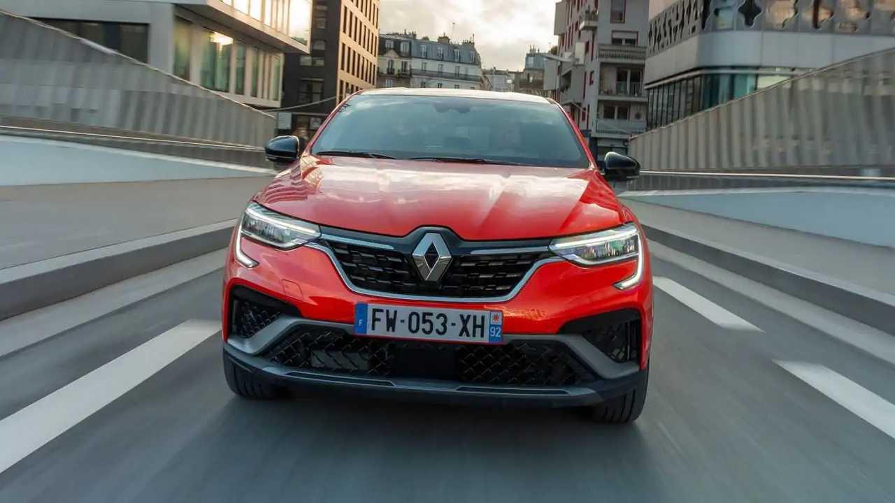 2021 - Essais presse Renault ARKANA - Orange Valencia