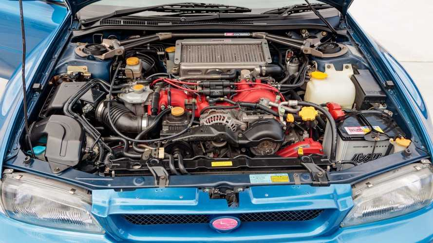 Subaru Impreza 22B STi (1998) für $312,555 verkauft