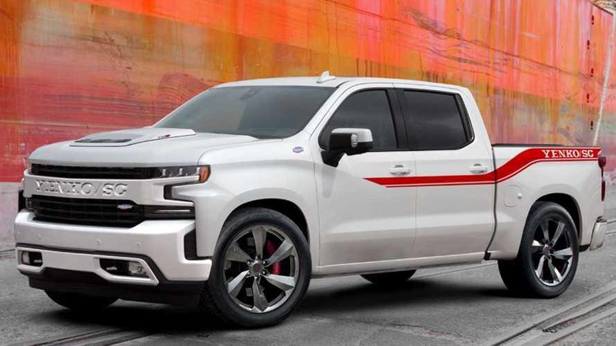 Chevrolet Silverado посадили на стероиды