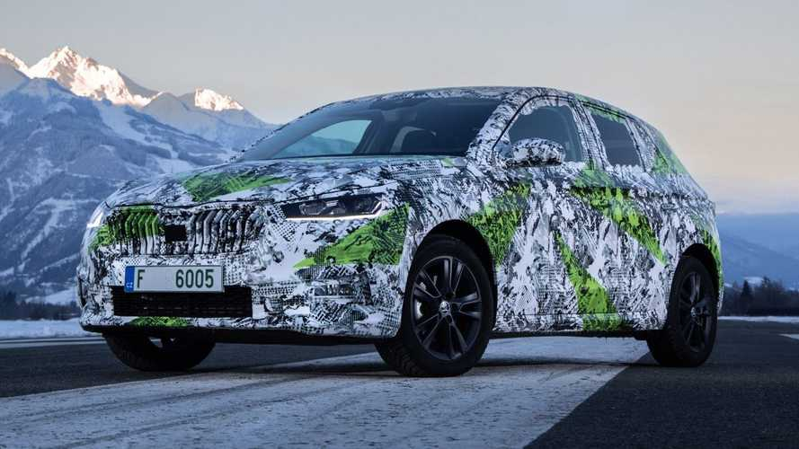 2021 Skoda Fabia teased and it's as big as the Volkswagen Golf Mk4
