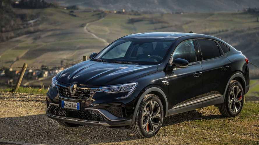 Renault Arkana, svelati i prezzi per l'Italia del SUV coupéibrido