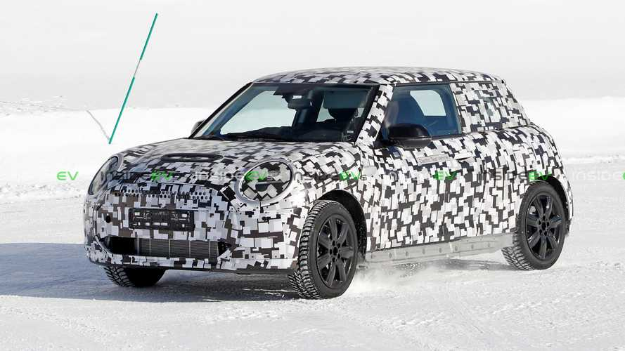 Next-Gen MINI Cooper Electric Spotted With Fake And Missing Parts