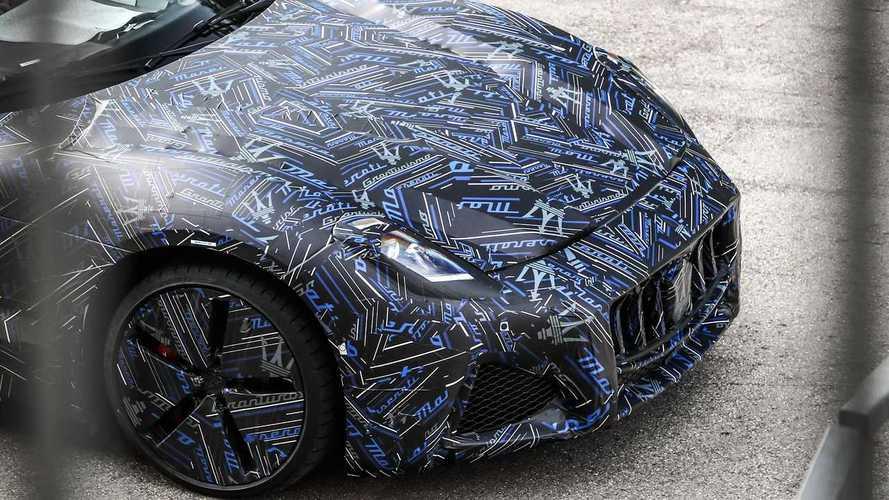 Maserati GranTurismo (2022) - Les premiers visuels officiels