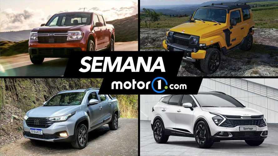 Semana Motor1.com: Nova Maverick, novos Astra, Sportage e mais