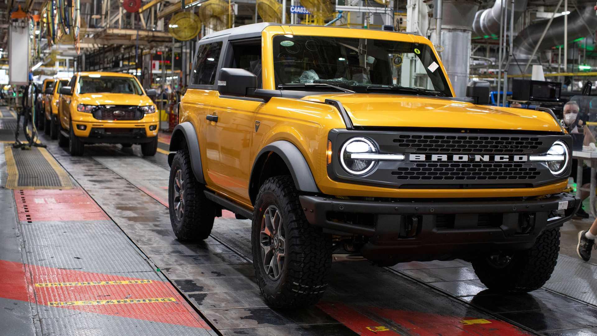 Producción de Ford Bronco 2021