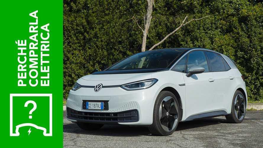 Volkswagen ID.3 (2020), perché comprarla elettrica e perché no