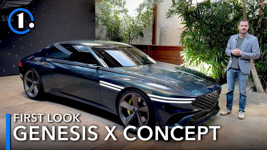 Genesis X Concept first look: A coupe-shaped look into the future