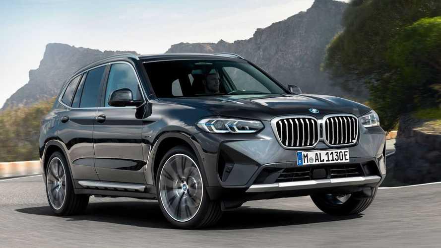 BMW présente les versions restylées des X3 et X4