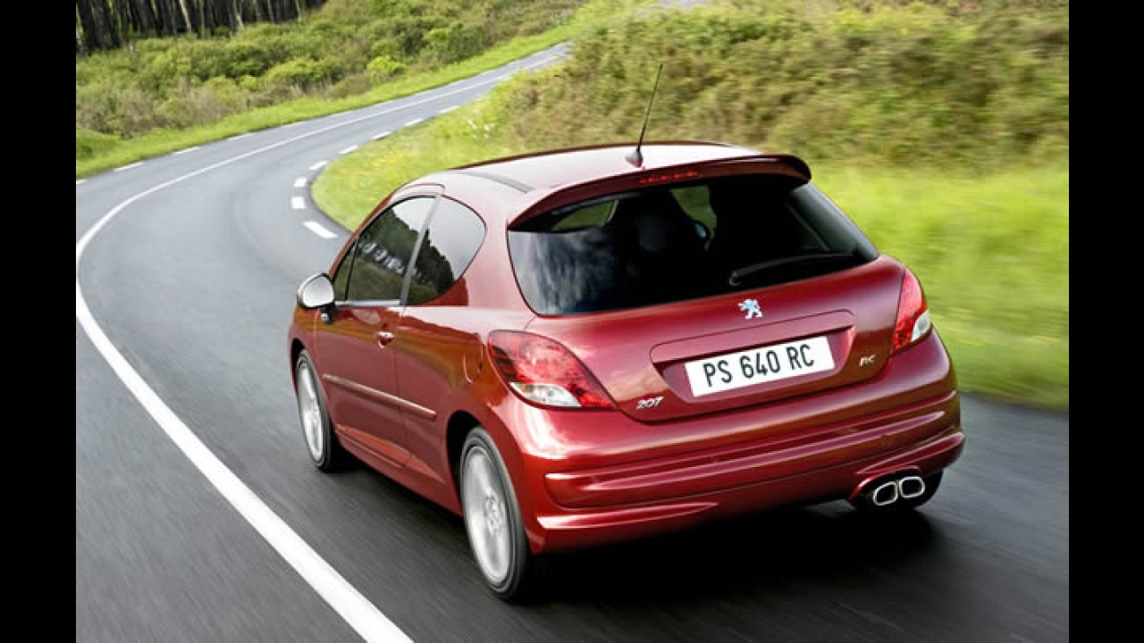 França: Peugeot 207 foi o mais vendido em ano de queda nas vendas no país