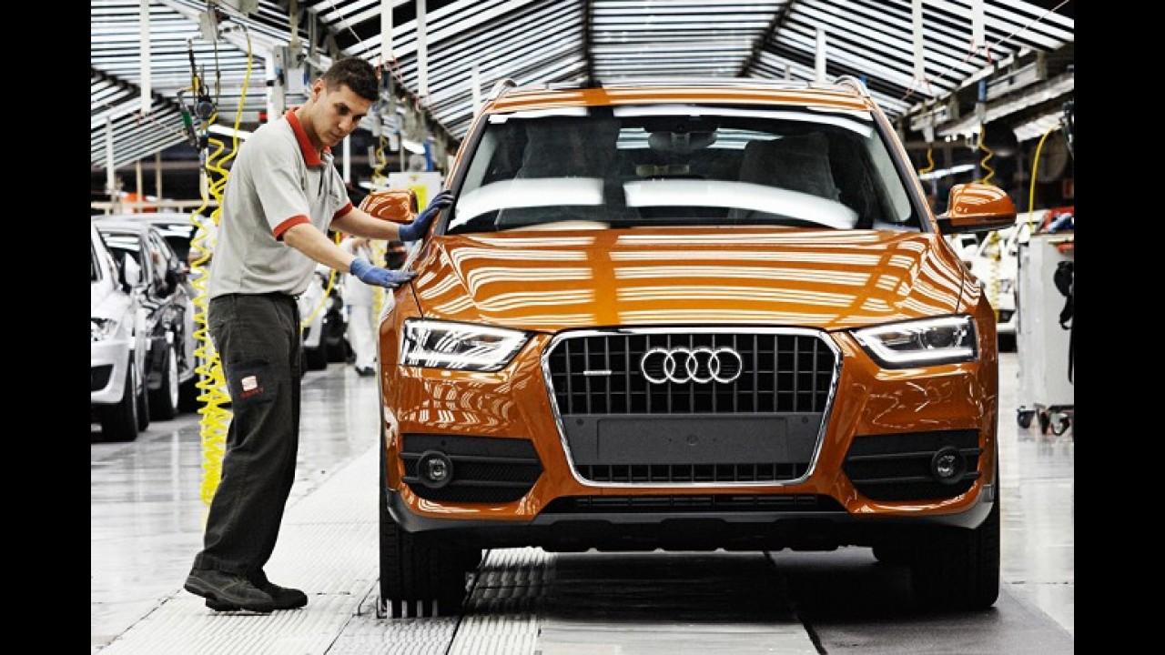 Audi construirá fábrica na América do Norte para atender alta demanda