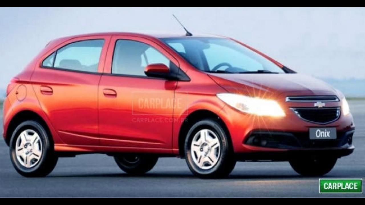 Exclusivo: Primeira imagem oficial do Chevrolet Onix