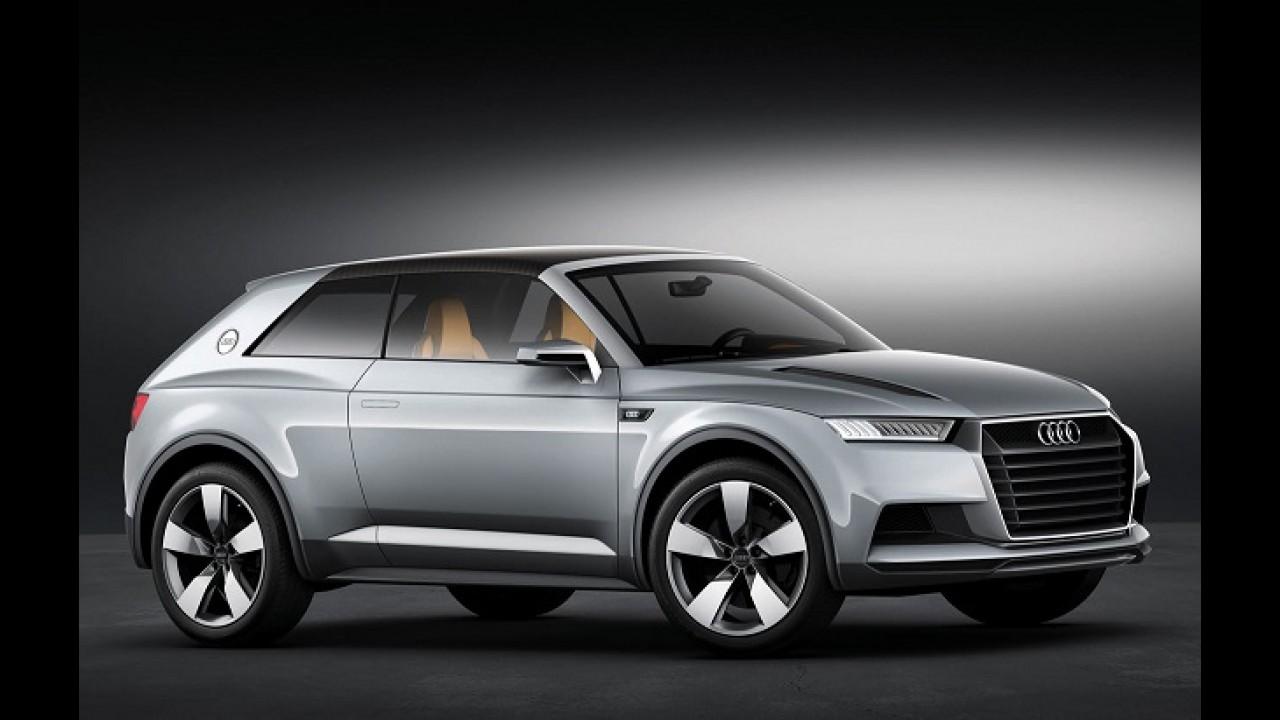 Audi Q1 é o futuro mini SUV da marca que chega em 2016