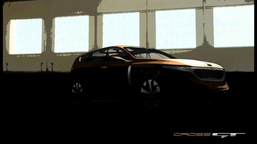Kia apresentará conceito Cross GT em Chicago - Modelo antecipa SUV maior que o Sorento