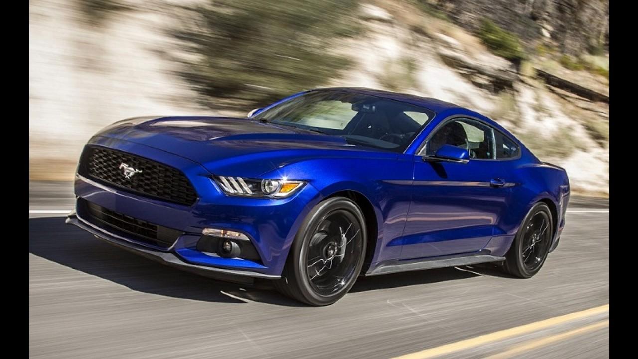 Cotado para o Brasil, Mustang perde até 11% de potência com gasolina comum